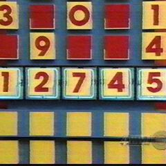 All five numbers are right. But if there was one number wrong and it gets covered, the button gets pressed to see if the one remaining number is right.