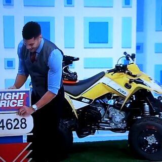 He picks the Kymco Mongoose 270 Euro ATV.