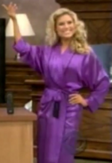 Rachel in Satin Sleepwear-42