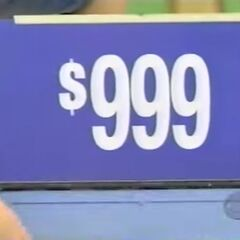 Next, she picks the stove, which is $999.