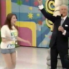 Bob salutes Natalie.