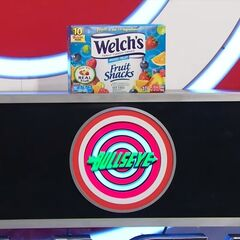 But, good news, the hidden bullseye is behind the fruit snacks!