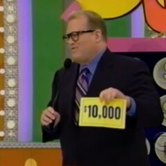 But, on her last punch, she could've had $10,000!