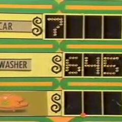She wins the dishwasher, and so does Mrs. Ray Katz.