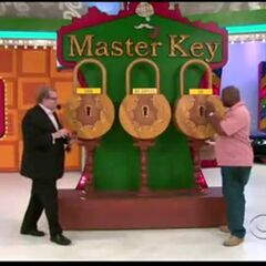 The first key he picked was the blank key.