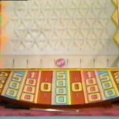 And here's the other one, similar to the daytime show, but with $2500 instead of $100 spaces. The biggest win in this version was $16,500.