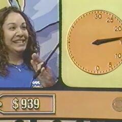 ...1500, 1200, 1100, 1000, 995, 950, 850, 750 (stop the clock).
