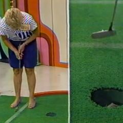 And fortunately, Joan has also made her putt.
