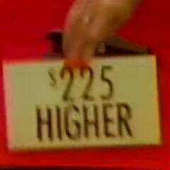 Unfortunately, it was higher.