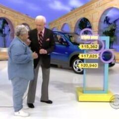 She picks the $17,825 price.