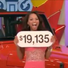 The Jeep Wrangler was the most expensive automobile and the price of it is seen here. She is a winner!