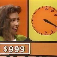 1000, 900, 950, 960, 970, 980, 990, 999.