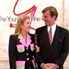 In December 1992, Melody Thomas Scott & Peter Bergman made a special cameo in a showcase saluting
