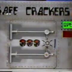 Safe Crackers' original look.....