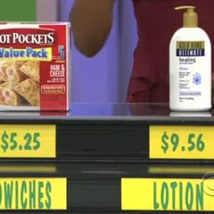 They said the lotion is higher than the hot pockets. They are correct.