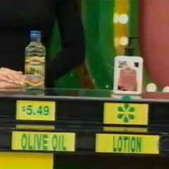 She says the Udderly Smooth hand & body lotion is less expensive than the olive oil.