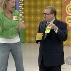 A $2.00 card! She just won a car.