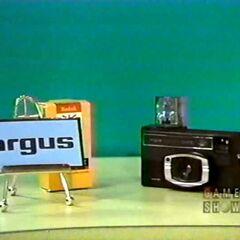 Next prize: an Argus camera.