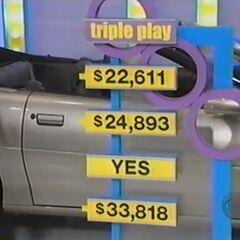 She wins 3 automobiles.