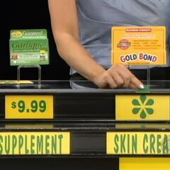 She says the skin cream is less expensive than the supplement.