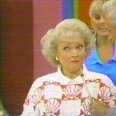 In September 1988, Golden Girl Betty White made a special appearance during <a href=