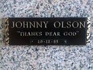 Johnny Olson's Grave