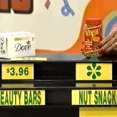 She says the Wheat Nuts snack is less expensive than the Dove beauty bars.