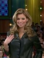 Amber Lancaster in Leather Jacket-1
