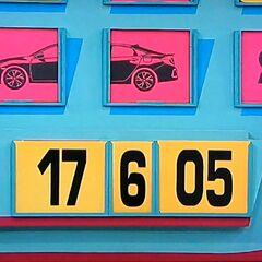 He won $181 but no car.