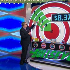 ...$8.37. She can still win as long as the taco shells or the fruit snacks have the hidden bullseye.