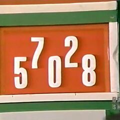Gerald is going to use 4 of the numbers for the price of the Pontiac J2000 coupe.