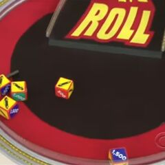 On their first roll, they have 4 cars and $1500. They decide to roll again.