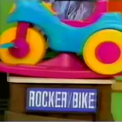 The 3rd item is a Rocker/Bike.
