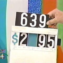 He says it's $2,395.