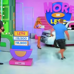 He is right. It is $18,900! So he wins the car and the other three prizes!