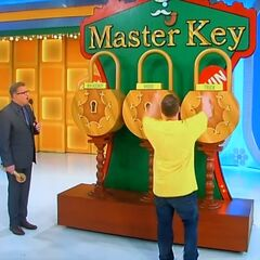 The first key he picked was for the truck!