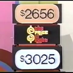 Which of these two prices is the price of the prize?