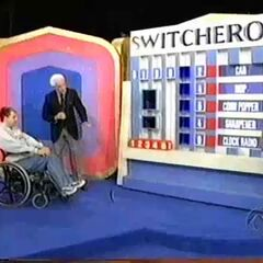 Here's a playing of the game with Tyler van Haetsma, a disabled contestant from October 2, 2003 (#2614K). To accommodate him, then-Barker's Beauty Claudia Jordan placed the blocks in for him and he was given 45 seconds to play instead of the usual 30.