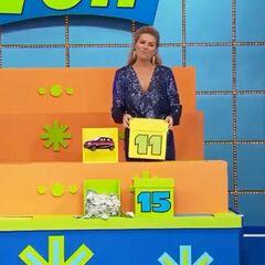 Box 15 had the cash, and Box 11 had the car.