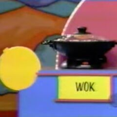 She thinks the wok is $68.