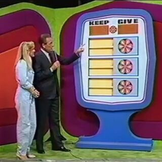 For the rest of its life on Price is Right, the border is blue.
