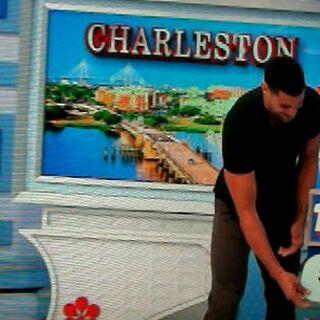 She picks the trip to Charleston.
