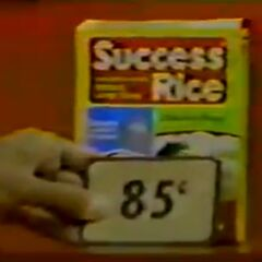 Next, she picks 2 rices which come to...