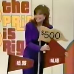 And finally, the price of the denture cleaner. She should've swapped <i>that</i> and the hair coloring, so no $500 bonus.