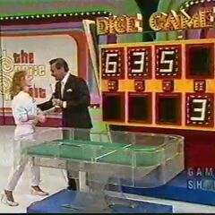 The contestant won the game. Actual Retail Price: $6,353