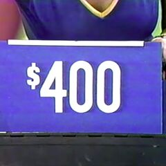 The price of the desk is $400.