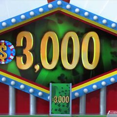 The contestant has to be within $3,000 without going over.
