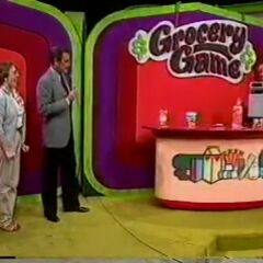 Here's the later look of Grocery Game from the 80s
