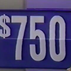 ...$750.