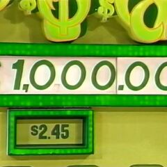 He decides to take the $1,000.